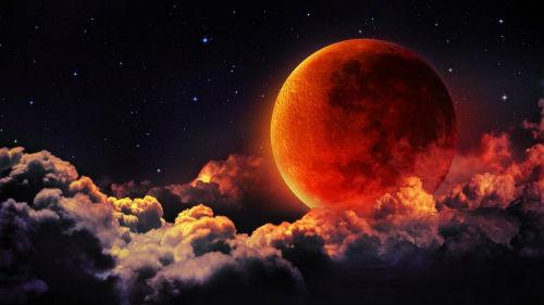 лунное затмение кровавая луна