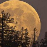 полная луна суперлуние