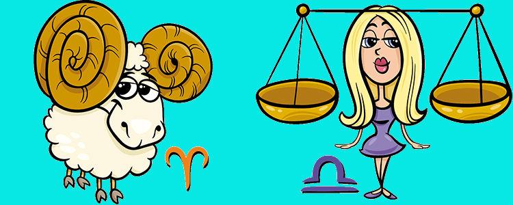 отношения между весами и овном