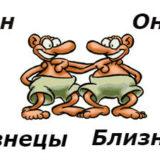 совместимость мужчина-близнец и женщина-близнец