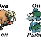овместимость мужчина-рыбы женщина-овен