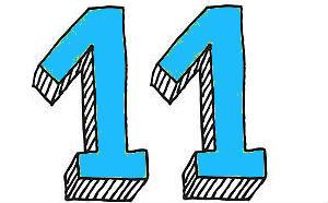 влияние цифры 11