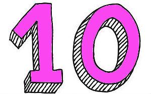 влияние цифры 10
