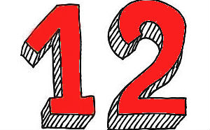 влияние цифры 12