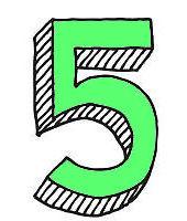 влияние цифры 5