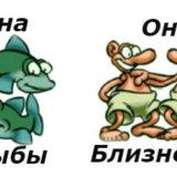 гороскоп совместимости женщина-рыбы и мужчина-близнецы