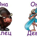 гороскоп совместимости женщина-телец и мужчина-дева