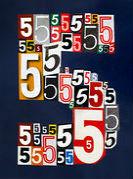 ангельская комбинации с цифрой 5