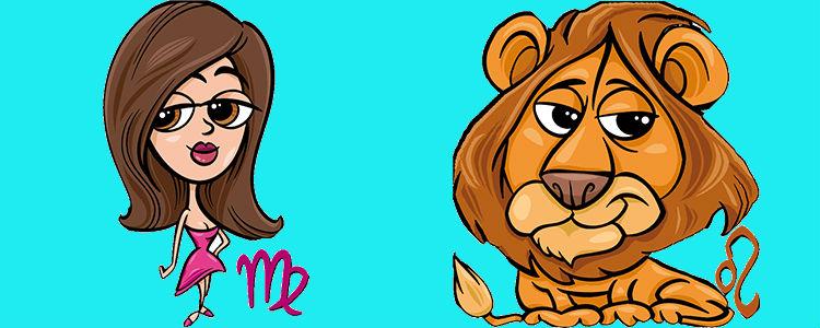 отношения между львом и девой