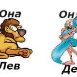 совместимость мужчина-дева женщина-лев