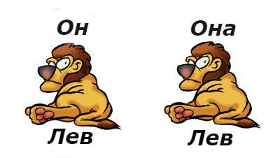совместимость мужчина-лев женщина-лев