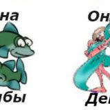 совместимость мужчина-дева женщина-рыбы