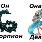 совместимость мужчина-скорпион женщина-дева