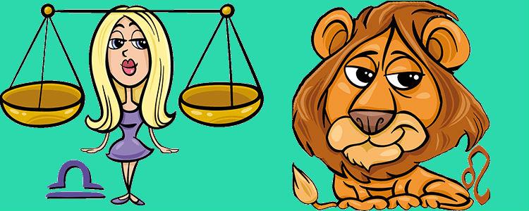 отношения между львом и весами