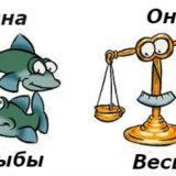совместимости мужчина-Весыи женщина-Рыбы