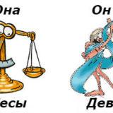 совместимость женщина-Весы и мужчина-Дева