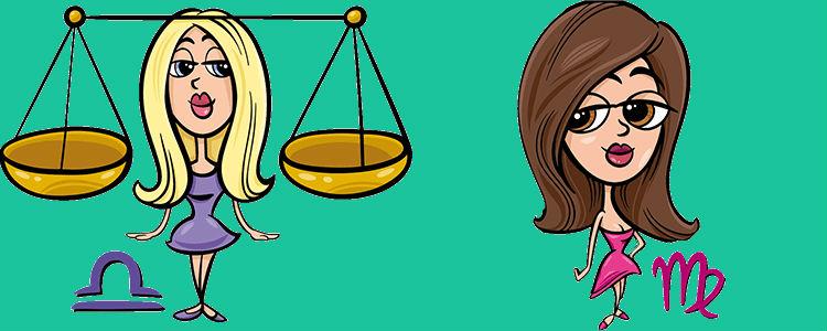 отношения между девой и весами