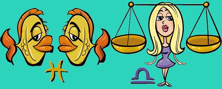 отношения между весами и рыбами
