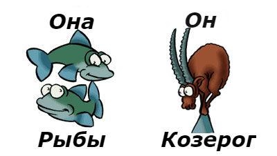 совместимость мужчина-козерог женщина-рыбы