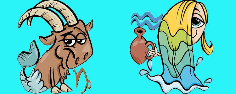 отношения между водолеем и козерогом