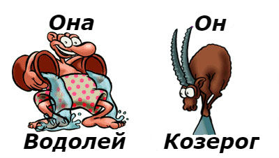 совместимость мужчина-козерог и женщина-водолей