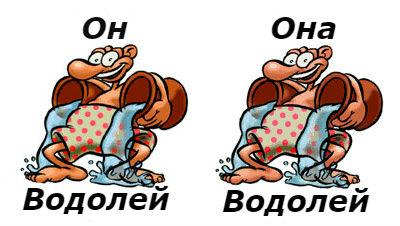 совместимость мужчина-водолей и женщина-водолей
