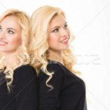 женщина близнецы