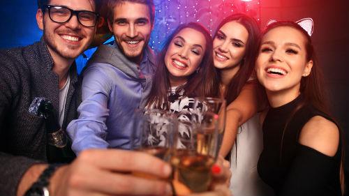 праздник с друзьями
