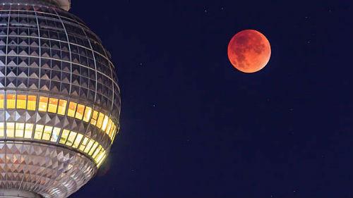 затмение луны и суперлуние 17 июля 2019