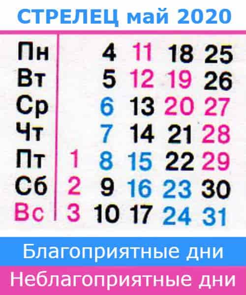 гороскоп на май 2020 года для знака стрелец